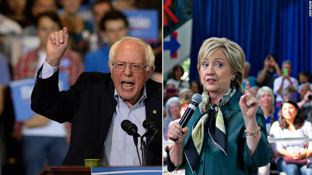 Where do the Democratic candidates stand on economic issues?