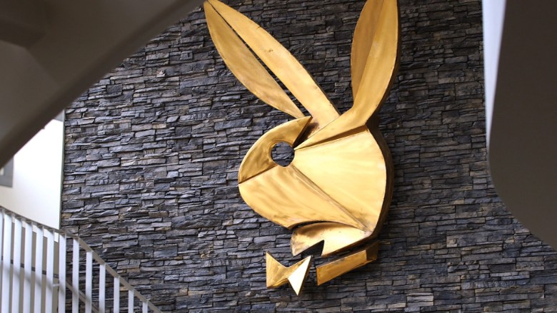 Gold Playboy bunny