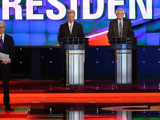 Anderson Cooper held firm at Democratic debate