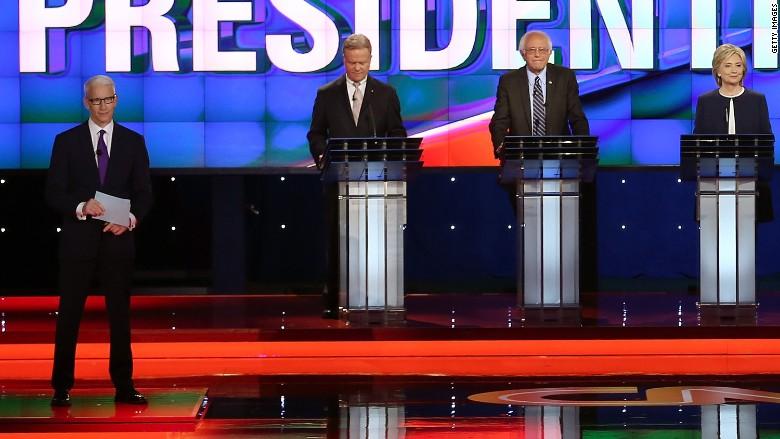 democratic debate Anderson cooper