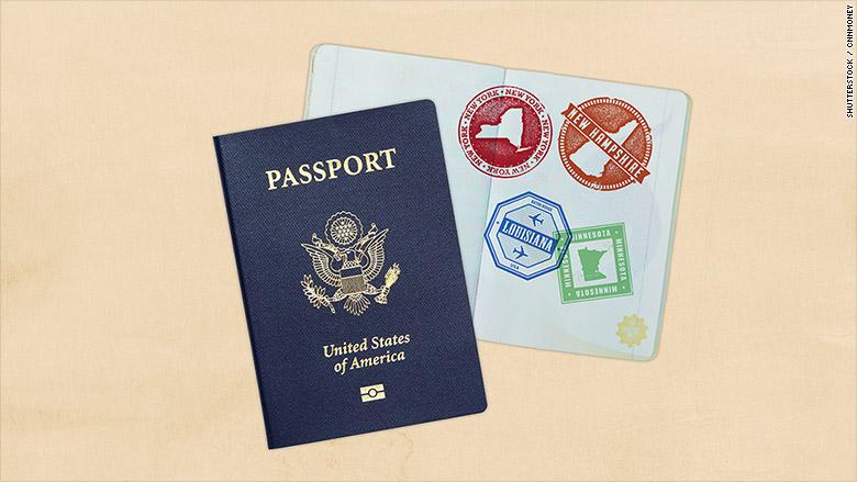 passport domestic travel