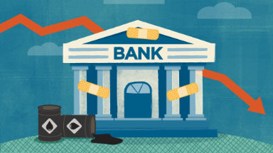 Banks get relief for their big oil headache