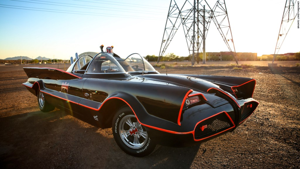 Driving the one and only, original Batmobile
