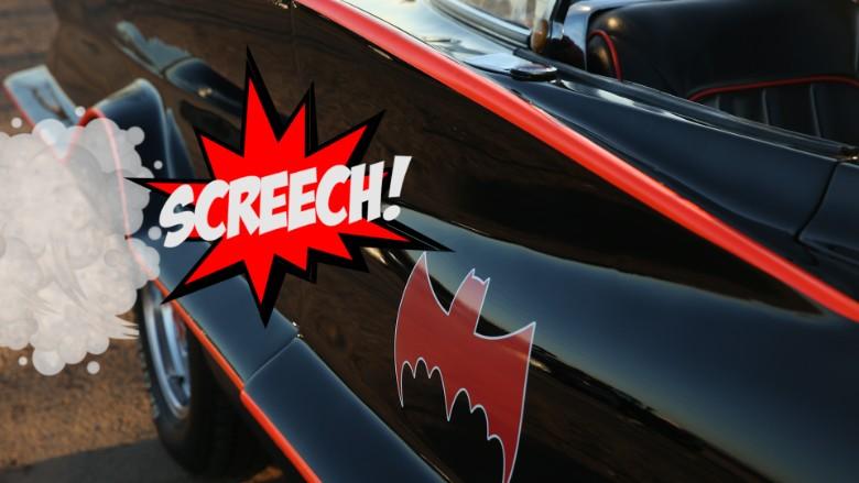 batmobile bat detail screech gfx