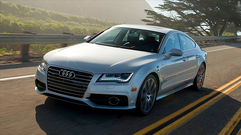 Audi Most Reliable Car Brands Consumer Reports CNNMoney - Audi car versions
