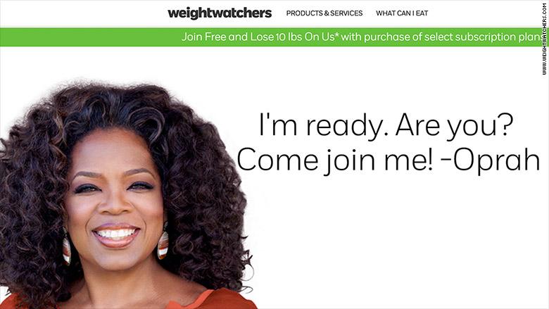 oprahs weight watchers weight loss