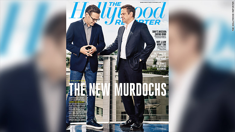 hollywood reporter new murdochs
