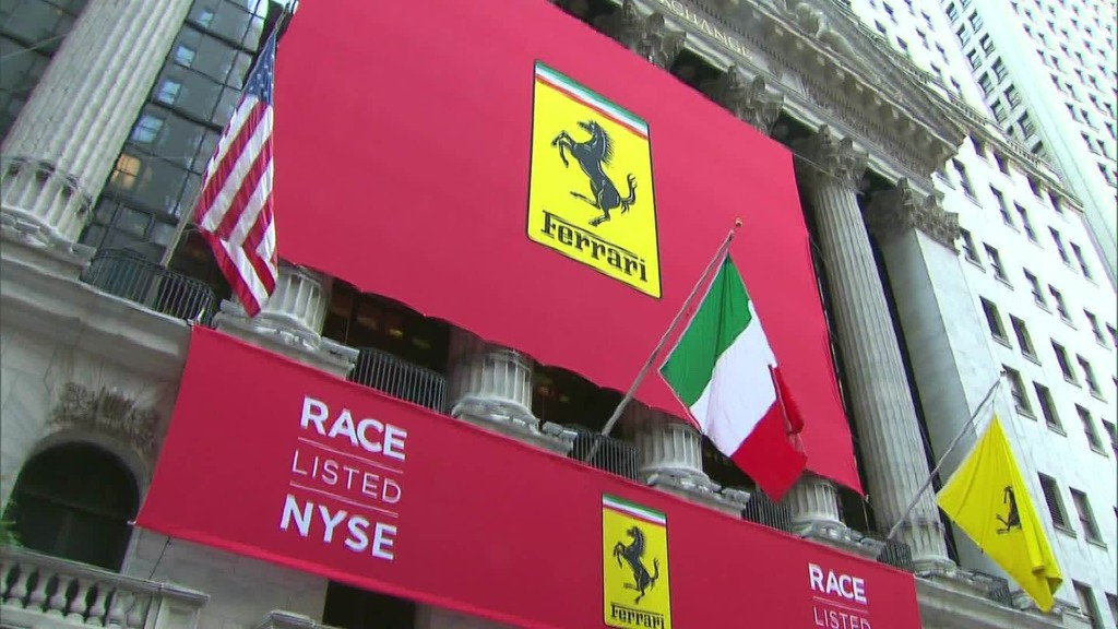 Ferrari gets top dollar for its stock