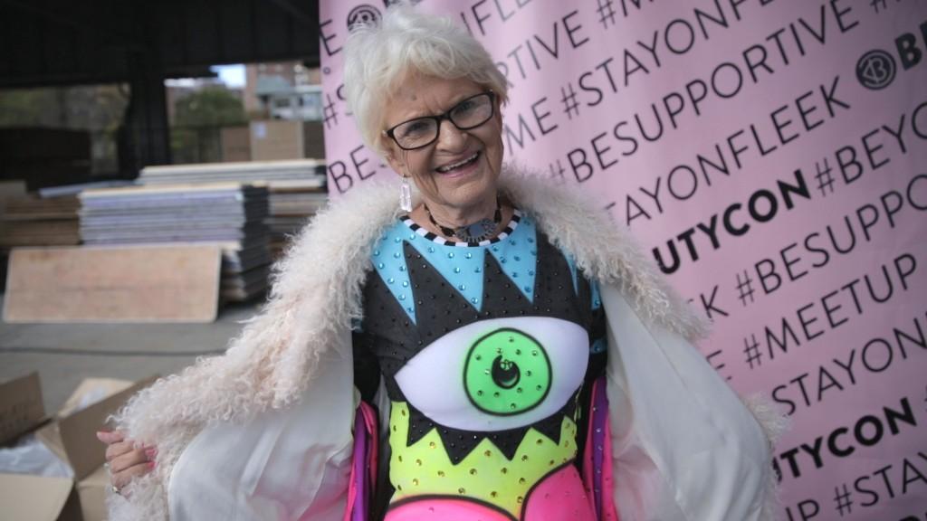 Glam Grandma makes bank on Instagram