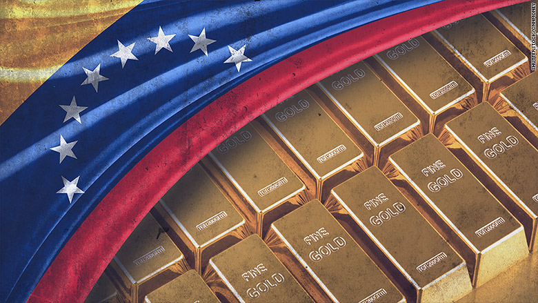 Venezuela Running Out of Cash, Selling Its Gold