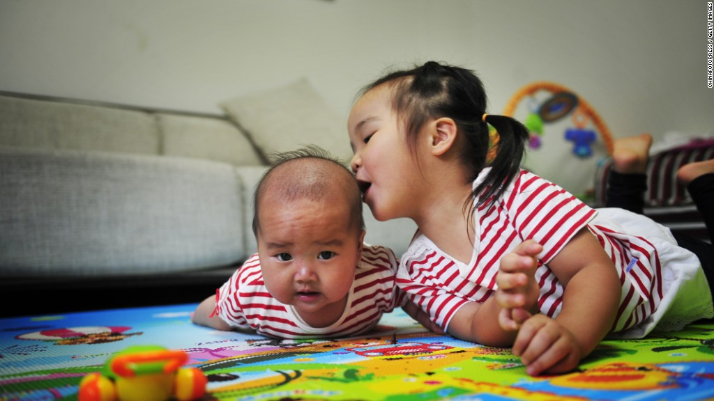 China ends one-child policy