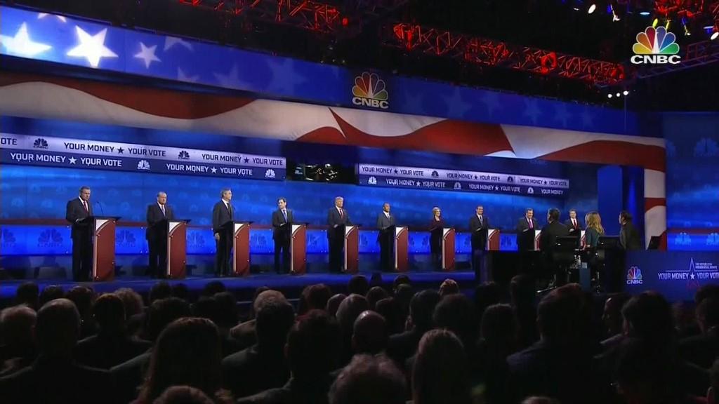 GOP fires more shots at 'big media' after debate