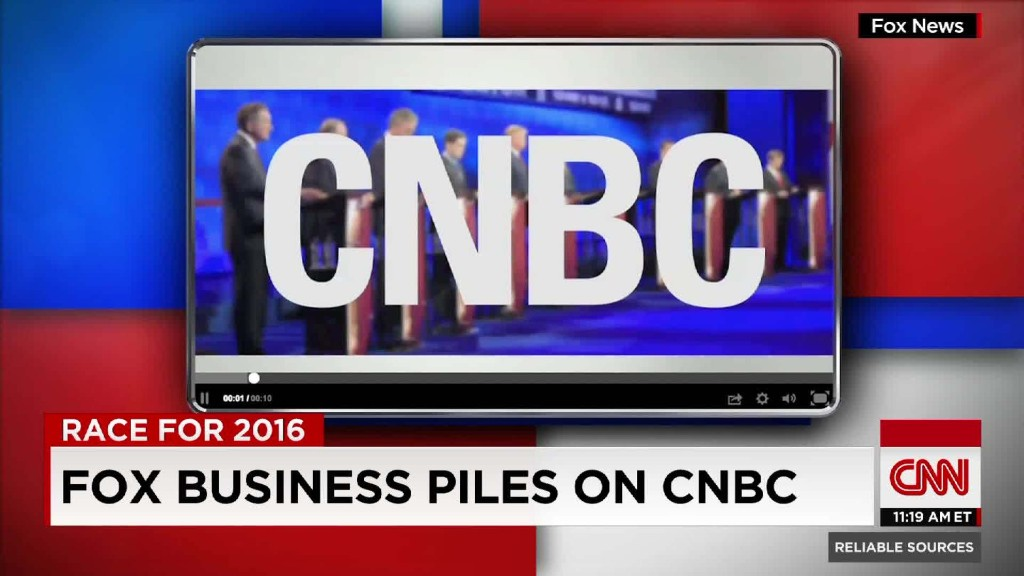Fox Business piles on CNBC