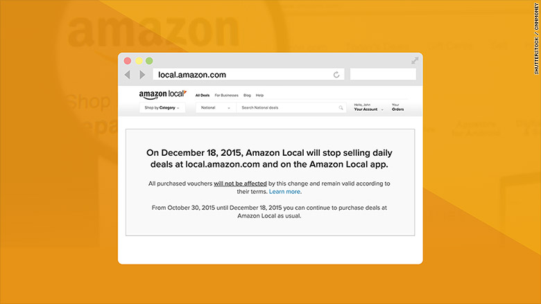 amazon shutting down local