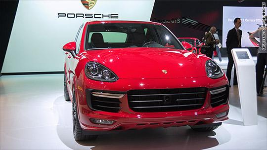 Germany recalls 22,000 Porsche SUVs
