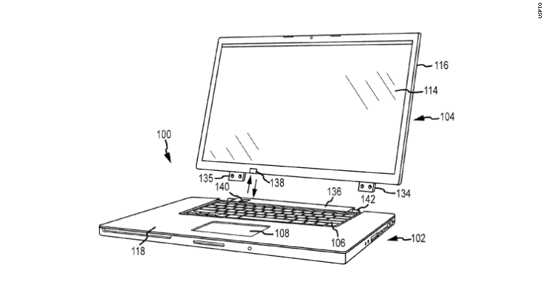 apple mac patent monitor