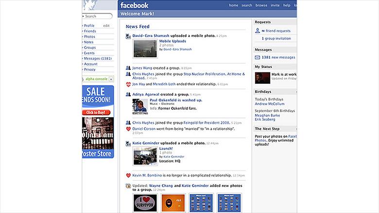 facebook 2006