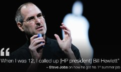 Looking for a better job? Try the Steve Jobs approach