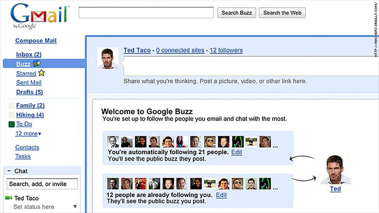 google buzz 2010