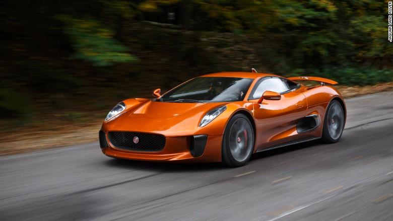 spectre jaguar crashes aston martin 39 s james bond party. Black Bedroom Furniture Sets. Home Design Ideas