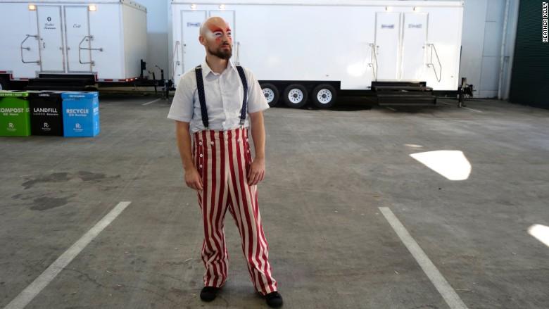 STEAM Carnival clown