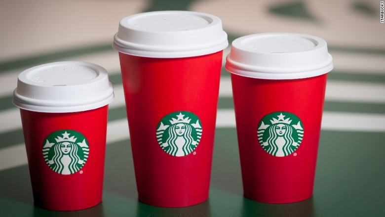 Starbucks' red cups stir up controversy - Nov. 8, 2015