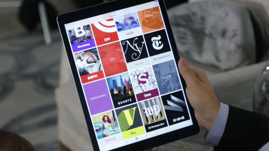 Exclusive: Apple's Eddy Cue shows off iPad Pro