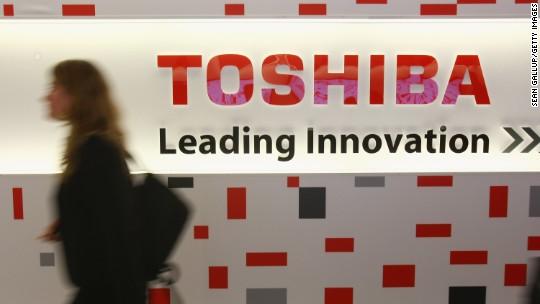 Toshiba shares tank after posting $6 billion loss