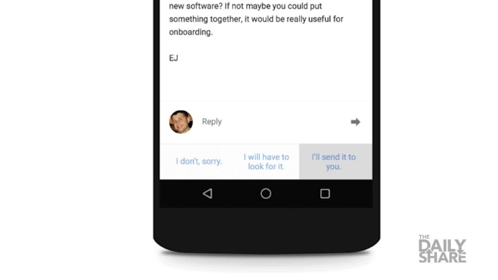 Google Inbox: Now with artificial intelligence