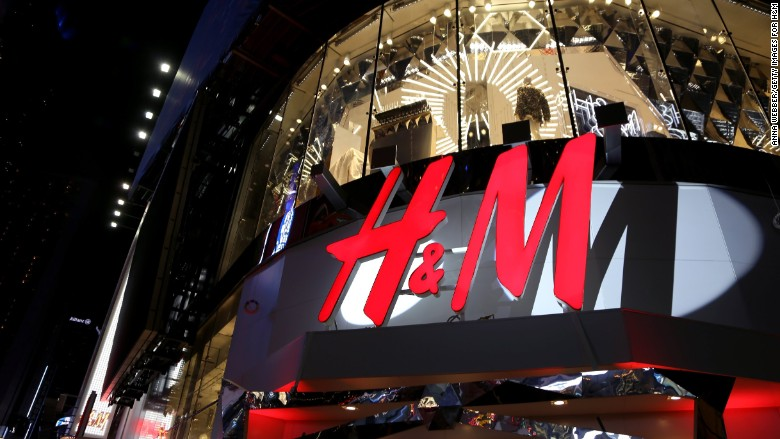 H&M closes all its stores in South Africa after protests