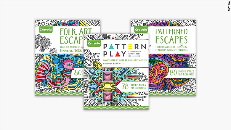 adult coloring books New
