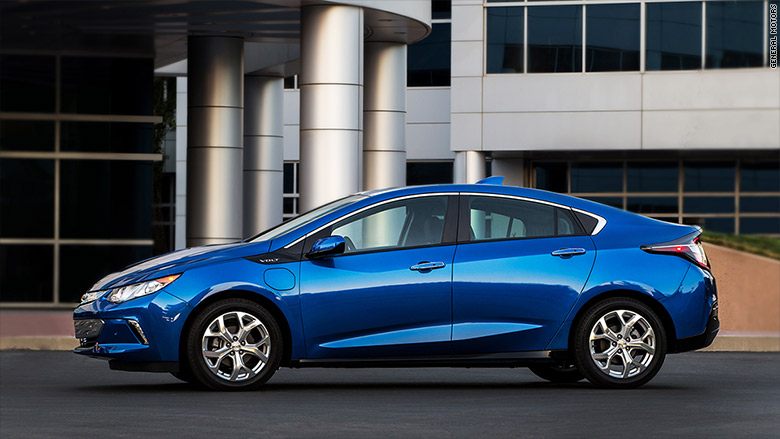 electric hybrid chevrolet volt kelley blue book best cars for the money cnnmoney. Black Bedroom Furniture Sets. Home Design Ideas