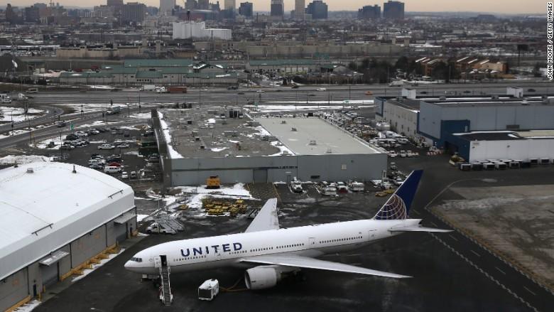 united newark airport doj
