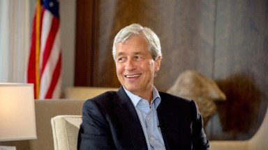 Jamie Dimon brags about how mighty JPMorgan is