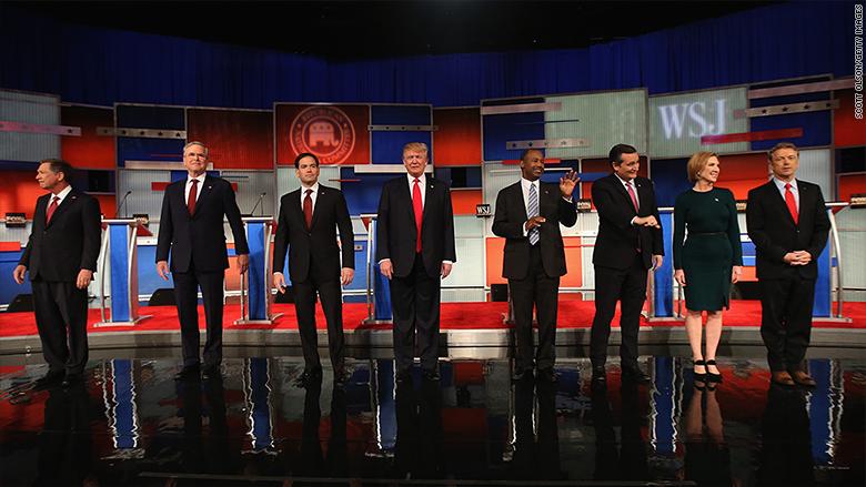 gop debate candidates 1