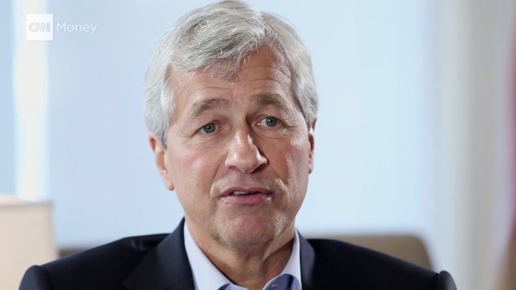 Dimon discusses income inequality