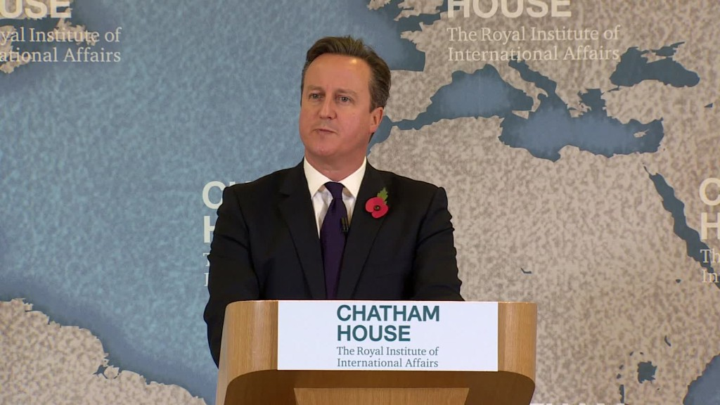 British PM lays out plan for EU reform