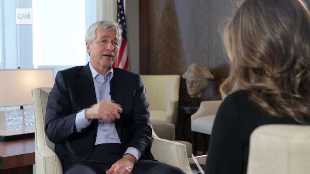 Dimon on interest rates