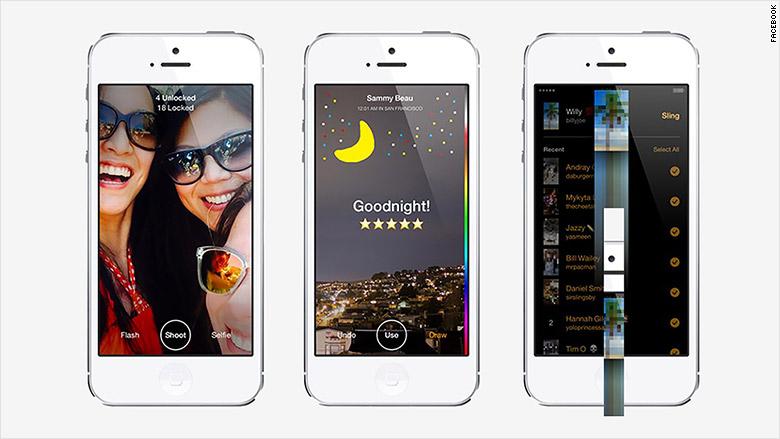 facebook app slingshot