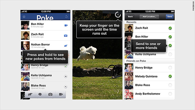 facebook app poke