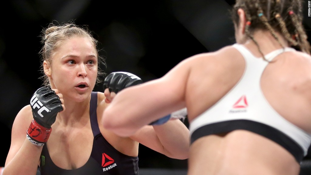 Ronda Rousey is a marketing knockout