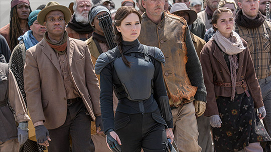 'Hunger Games' wins 5-day Thanksgiving box office contest