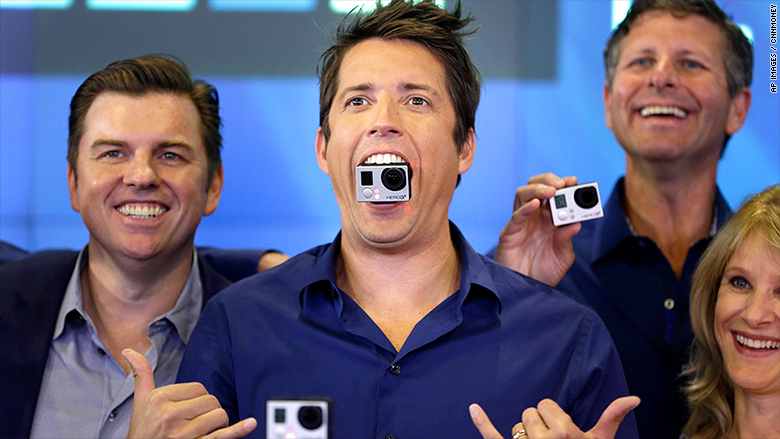 GoPro surges after Red Bull invests in it