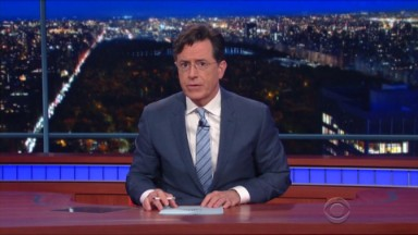 Colbert and Maher address Paris attacks