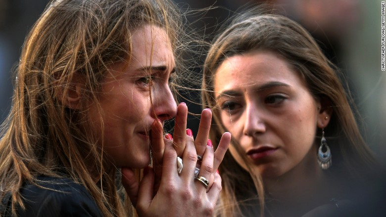 paris attacks grief