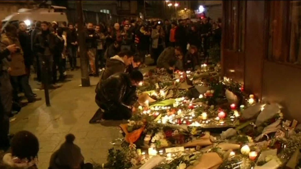 Paris attacks stunned the city