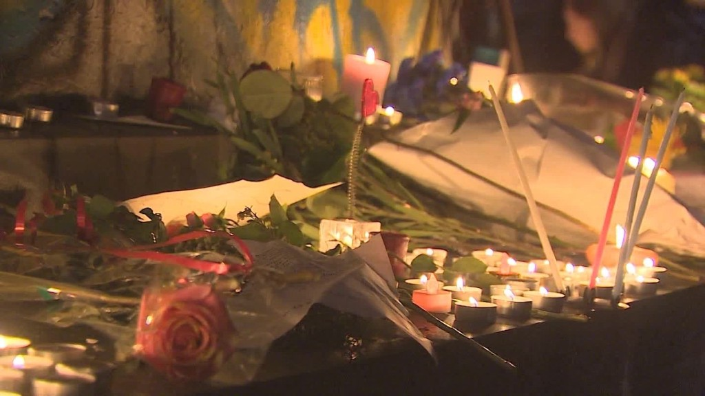 Parisians to terrorists: 'We are not afraid'