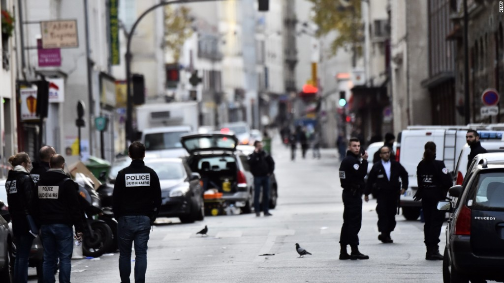 Scenes from Paris attack