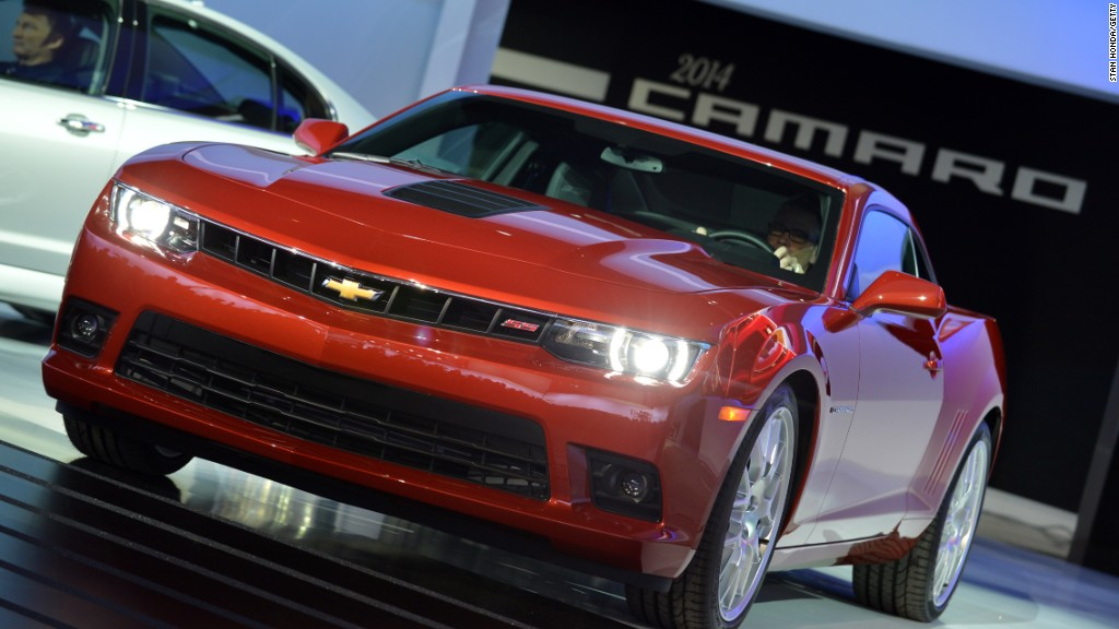 Chevy Camaro wins Motor Trend Car of the Year  Nov 17 2015