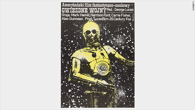 star wars polish poster